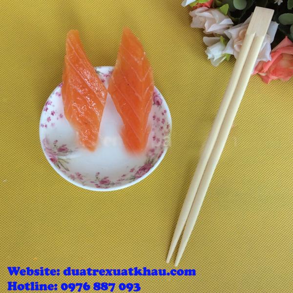 Đũa tách đầu vuông ăn susi hoặc sử dụng cho người Nhật Bản